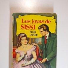 Tebeos: LAS JOYAS DE SISSI - ALIDA LARSEN - COLECCIÓN HISTORIAS Nº 147 - BRUGUERA 1ª ED. 1961. Lote 235354995