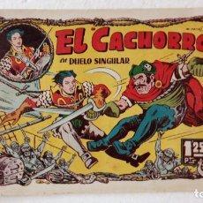 Tebeos: EL CACHORRO ORIGINAL Nº 60 - EDI. BRUGUERA 1951 - POR JUAN GARCÍA IRANZO. Lote 235374930
