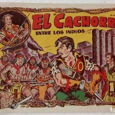 Tebeos: EL CACHORRO ORIGINAL Nº 63 - EDI. BRUGUERA 1951 - POR JUAN GARCÍA IRANZO. Lote 235375155