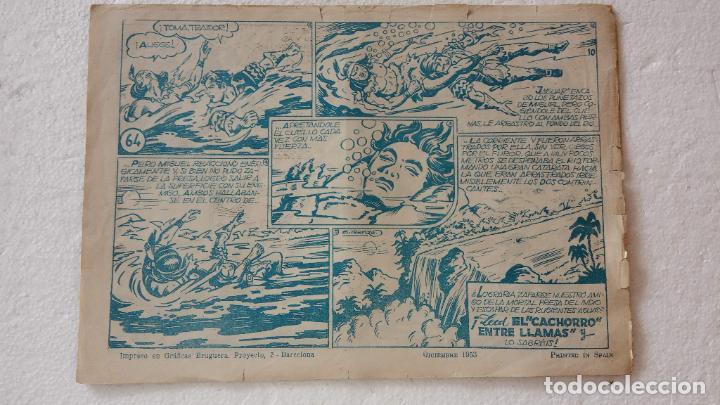 Tebeos: EL CACHORRO ORIGINAL Nº 64 - EDI. BRUGUERA 1951 - por JUAN GARCÍA IRANZO - Foto 2 - 235375400