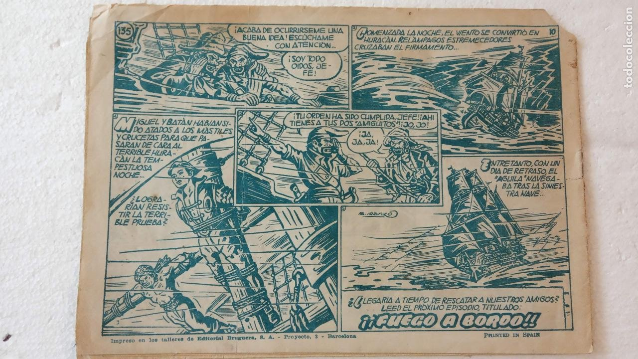 Tebeos: EL CACHORRO ORIGINAL Nº 135 - EDI. BRUGUERA 1951 - POR JUAN GARCÍA IRANZO - Foto 2 - 235379825