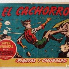 Tebeos: EL CACHORRO ORIGINAL Nº 192 - EDI. BRUGUERA 1951 - POR JUAN GARCÍA IRANZO. Lote 235380085