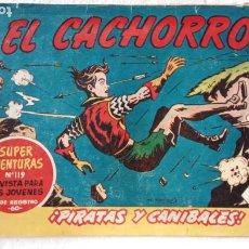 Tebeos: EL CACHORRO ORIGINAL Nº 192 - EDI. BRUGUERA 1951 - POR JUAN GARCÍA IRANZO. Lote 235380900