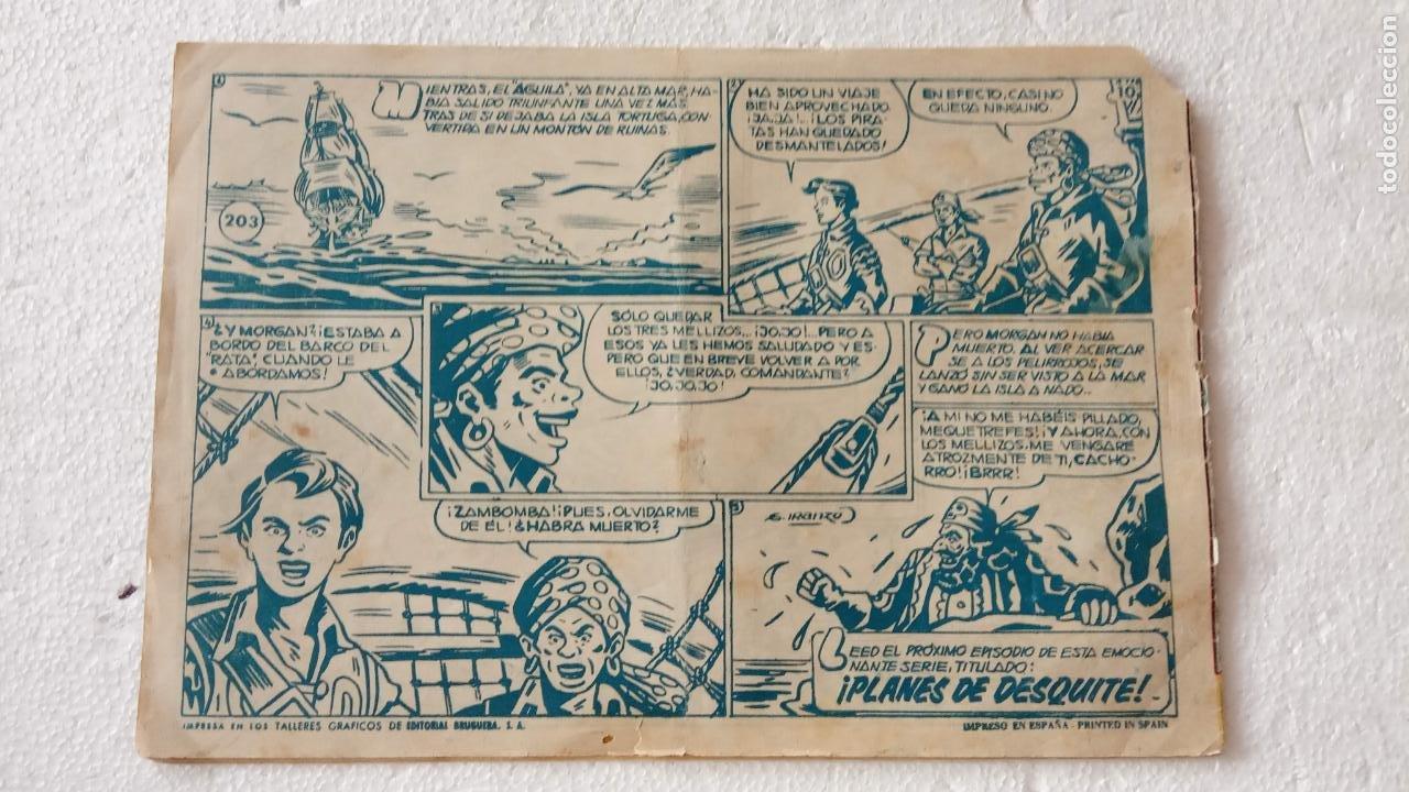 Tebeos: EL CACHORRO ORIGINAL Nº 203 - EDI. BRUGUERA 1951 - POR JUAN GARCÍA IRANZO - Foto 2 - 235381050