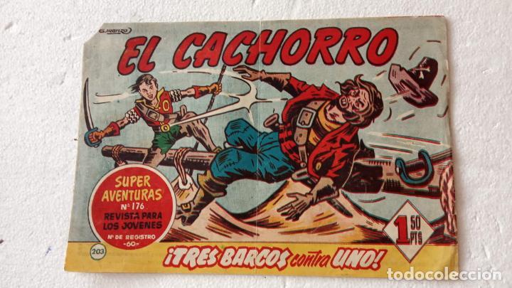 EL CACHORRO ORIGINAL Nº 203 - EDI. BRUGUERA 1951 - POR JUAN GARCÍA IRANZO (Tebeos y Comics - Bruguera - El Cachorro)