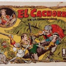 Tebeos: EL CACHORRO ORIGINAL Nº 85 - EDI. BRUGUERA 1951 - POR JUAN GARCÍA IRANZO. Lote 235381235