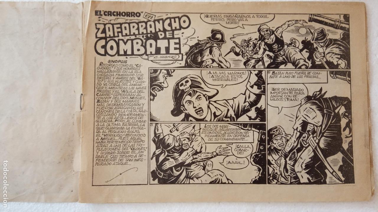 Tebeos: EL CACHORRO ORIGINAL Nº 100 - EDI. BRUGUERA 1951 - POR JUAN GARCÍA IRANZO - Foto 3 - 235381370