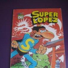 Livros de Banda Desenhada: SUPER LOPEZ Nº18 - 1ª EDICION 1990 - LA BANDA DEL DRAGON... . - SUPERLOPEZ. Lote 235446835