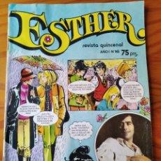 Tebeos: ESTHER REVISTA Nº 16 ---- INCLUYE POSTER, JOAN MANUEL SERRAT. Lote 235457200