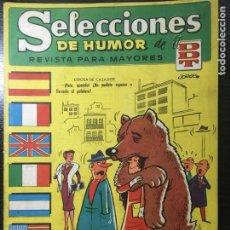 BDs: COMIC SELECCIONES DE HUMOR DDT - Nº 73. Lote 235474110