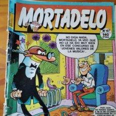 Tebeos: MORTADELO Nº 47. EDICIONES B. Lote 235494815