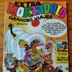 Tebeos: MORTADELO EXTRA GRANDES VIAJES. HISTORIA LARGA LOS VIAJES DE MARCO POLO. INCLUYE RECORTABLES MORTADE. Lote 235495755