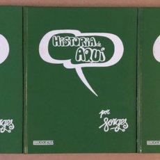 Tebeos: HISTORIA DE AQUÍ. FORGES. EDITORIAL BRUGUERA 1980. 3 TOMOS.. Lote 235511510