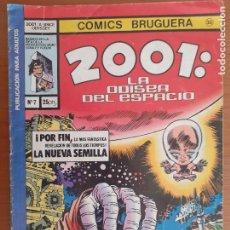 Tebeos: 2001: LA ODISEA DEL ESPACIO Nº 7. BRUGUERA 1978. Lote 235540705