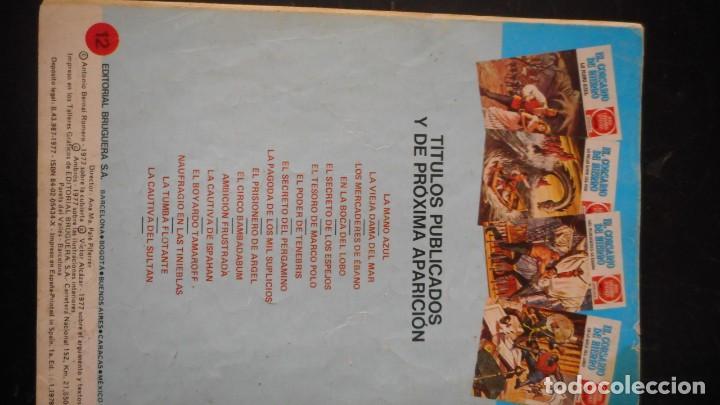 Tebeos: EL CORSARIO DE HIERRO Nº 12 - Foto 2 - 235571870