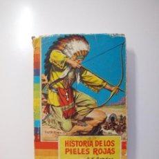 Tebeos: HISTORIA DE LOS PIELES ROJAS - A. K. GORDON - COLECCIÓN IRIS Nº 5 - BRUGUERA 1ª ED. 1959. Lote 235574045