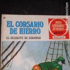 Tebeos: EL CORSARIO DE HIERRO Nº 34. Lote 235575960