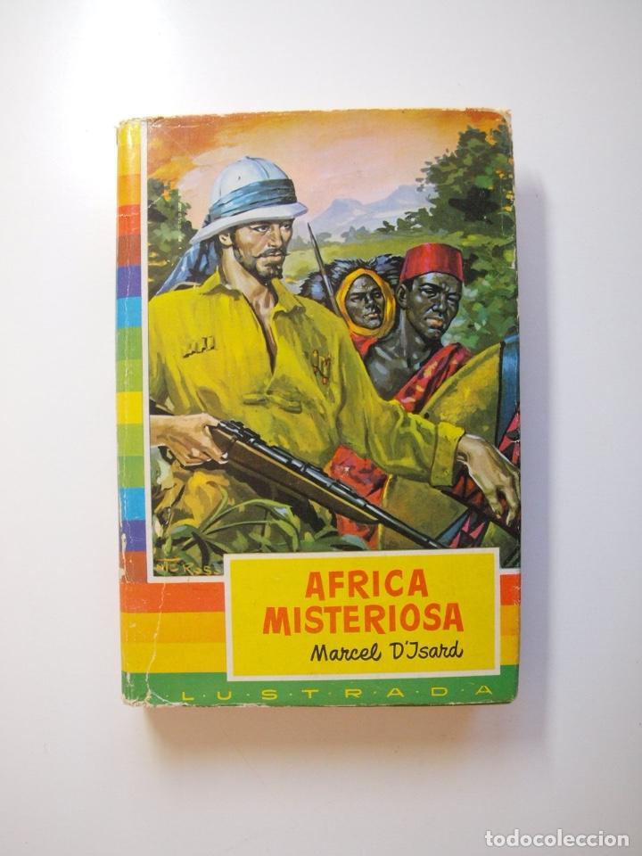 ÁFRICA MISTERIOSA - MARCEL D'ISARD - COLECCIÓN IRIS Nº 18 - BRUGUERA 1ª ED. 1959 (Tebeos y Comics - Bruguera - Historias Selección)