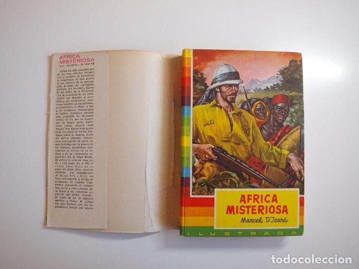 Tebeos: ÁFRICA MISTERIOSA - MARCEL DISARD - COLECCIÓN IRIS Nº 18 - BRUGUERA 1ª ED. 1959 - Foto 2 - 235576270