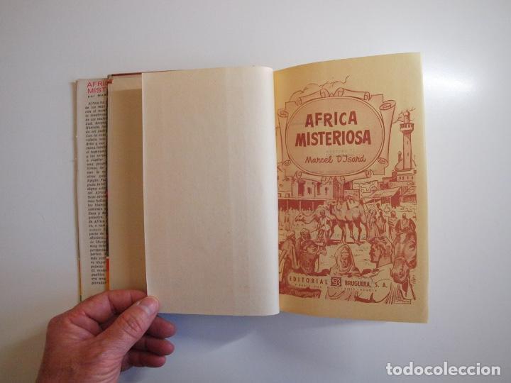 Tebeos: ÁFRICA MISTERIOSA - MARCEL DISARD - COLECCIÓN IRIS Nº 18 - BRUGUERA 1ª ED. 1959 - Foto 4 - 235576270