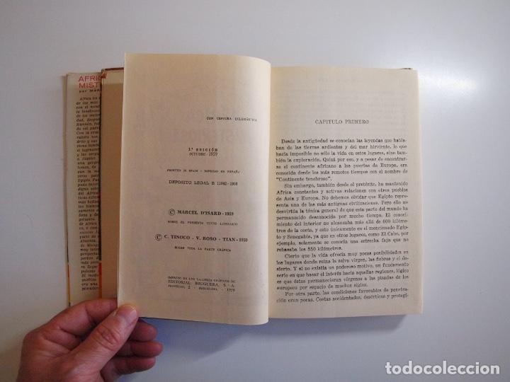 Tebeos: ÁFRICA MISTERIOSA - MARCEL DISARD - COLECCIÓN IRIS Nº 18 - BRUGUERA 1ª ED. 1959 - Foto 5 - 235576270
