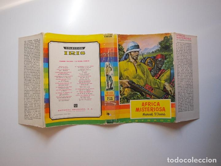 Tebeos: ÁFRICA MISTERIOSA - MARCEL DISARD - COLECCIÓN IRIS Nº 18 - BRUGUERA 1ª ED. 1959 - Foto 14 - 235576270