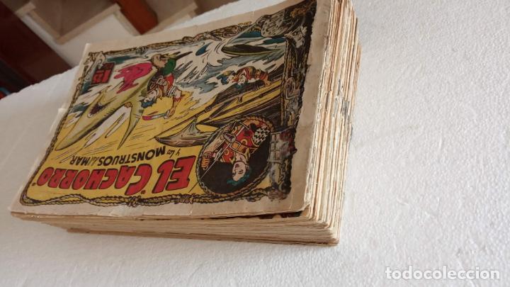 Tebeos: EL CACHORRO ORIGINALES 1951 BRUGUERA - 97 TEBEOS, VER TODAS LAS IMÁGENES DE PORTADAS Y CONTRAS - Foto 3 - 235576300