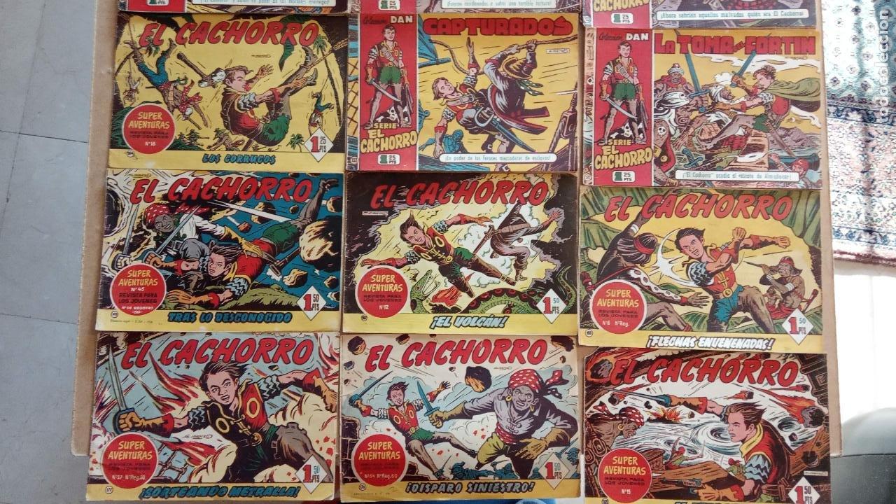 Tebeos: EL CACHORRO ORIGINALES 1951 BRUGUERA - 97 TEBEOS, VER TODAS LAS IMÁGENES DE PORTADAS Y CONTRAS - Foto 5 - 235576300