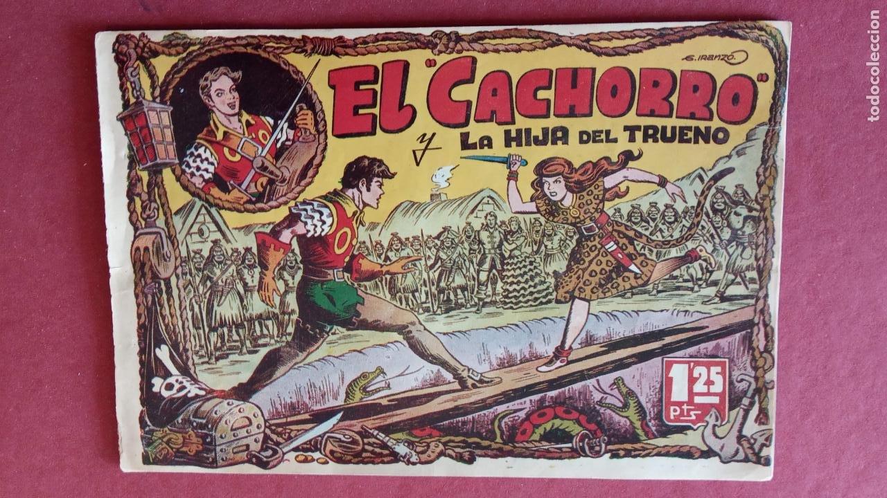 Tebeos: EL CACHORRO ORIGINALES 1951 BRUGUERA - 97 TEBEOS, VER TODAS LAS IMÁGENES DE PORTADAS Y CONTRAS - Foto 8 - 235576300