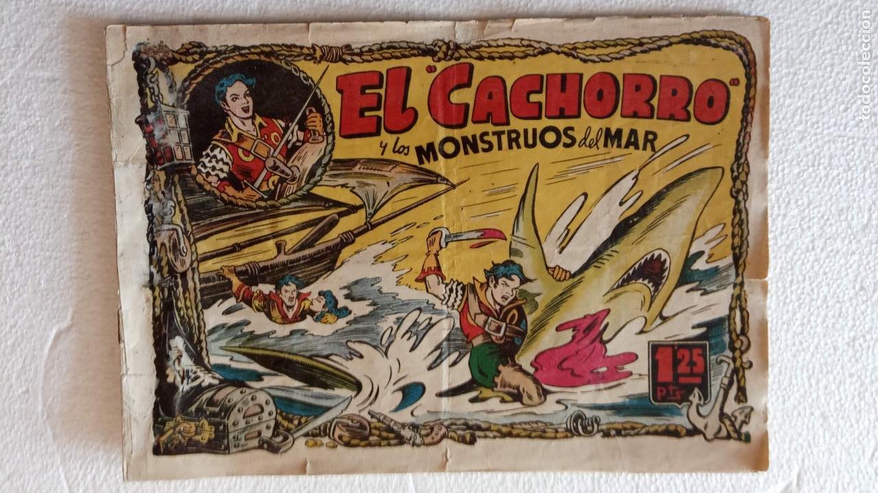Tebeos: EL CACHORRO ORIGINALES 1951 BRUGUERA - 97 TEBEOS, VER TODAS LAS IMÁGENES DE PORTADAS Y CONTRAS - Foto 9 - 235576300