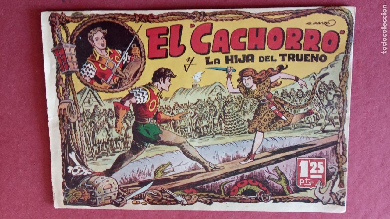 Tebeos: EL CACHORRO ORIGINALES 1951 BRUGUERA - 97 TEBEOS, VER TODAS LAS IMÁGENES DE PORTADAS Y CONTRAS - Foto 10 - 235576300