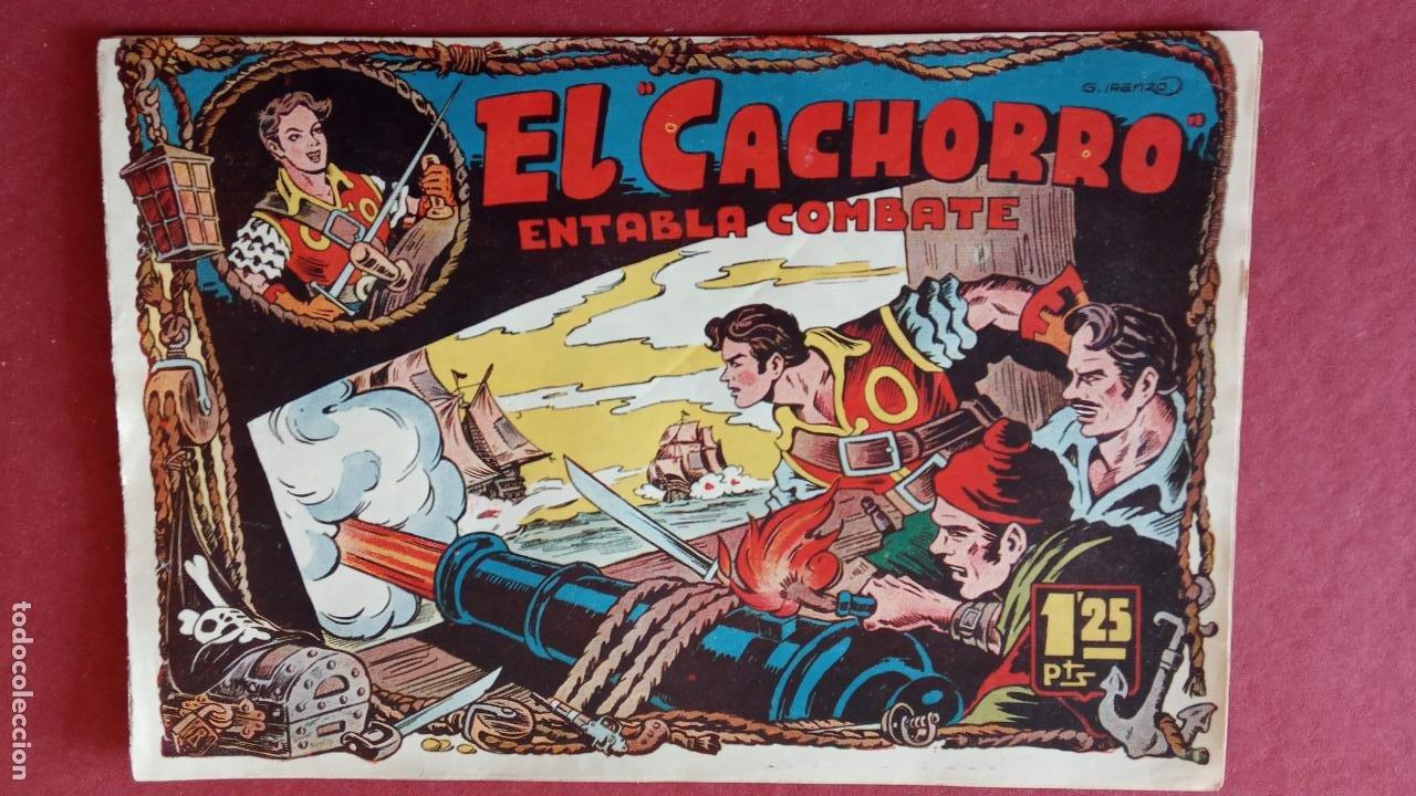 Tebeos: EL CACHORRO ORIGINALES 1951 BRUGUERA - 97 TEBEOS, VER TODAS LAS IMÁGENES DE PORTADAS Y CONTRAS - Foto 11 - 235576300