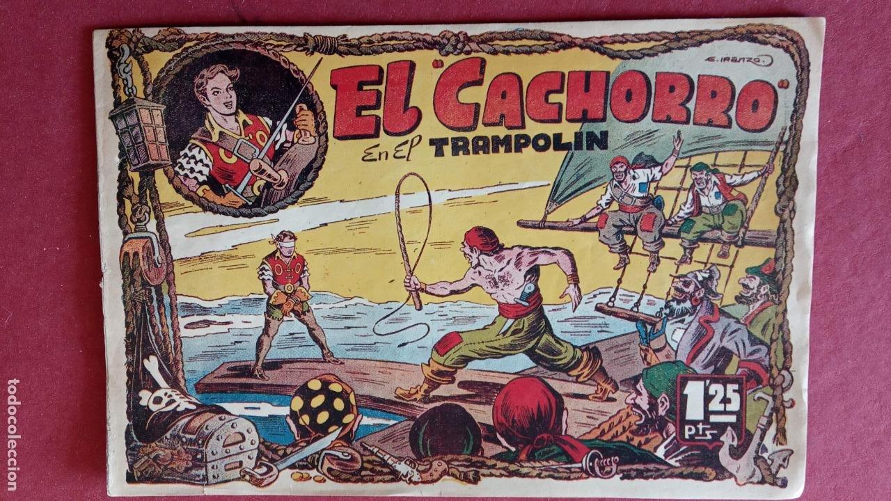 Tebeos: EL CACHORRO ORIGINALES 1951 BRUGUERA - 97 TEBEOS, VER TODAS LAS IMÁGENES DE PORTADAS Y CONTRAS - Foto 12 - 235576300