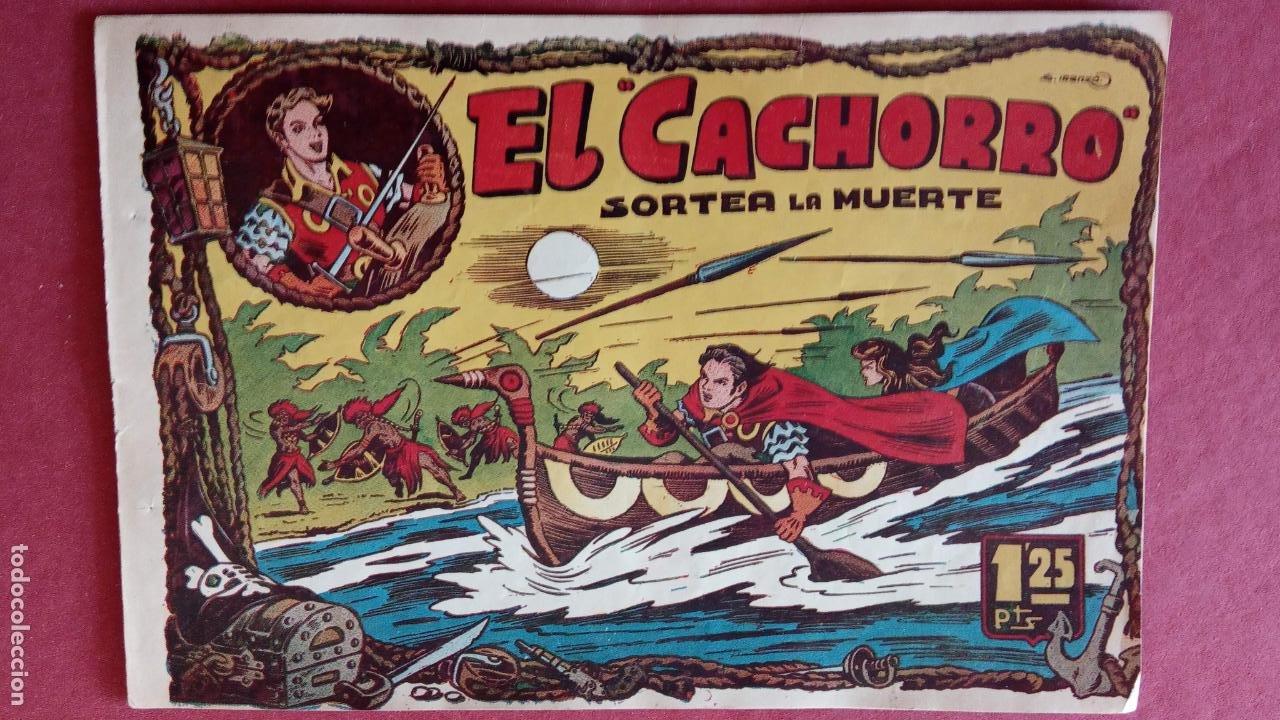 Tebeos: EL CACHORRO ORIGINALES 1951 BRUGUERA - 97 TEBEOS, VER TODAS LAS IMÁGENES DE PORTADAS Y CONTRAS - Foto 15 - 235576300