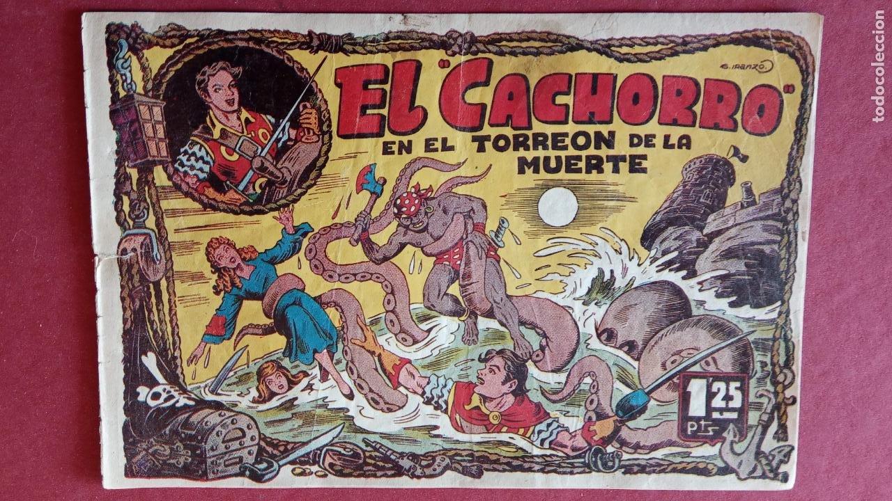 Tebeos: EL CACHORRO ORIGINALES 1951 BRUGUERA - 97 TEBEOS, VER TODAS LAS IMÁGENES DE PORTADAS Y CONTRAS - Foto 16 - 235576300