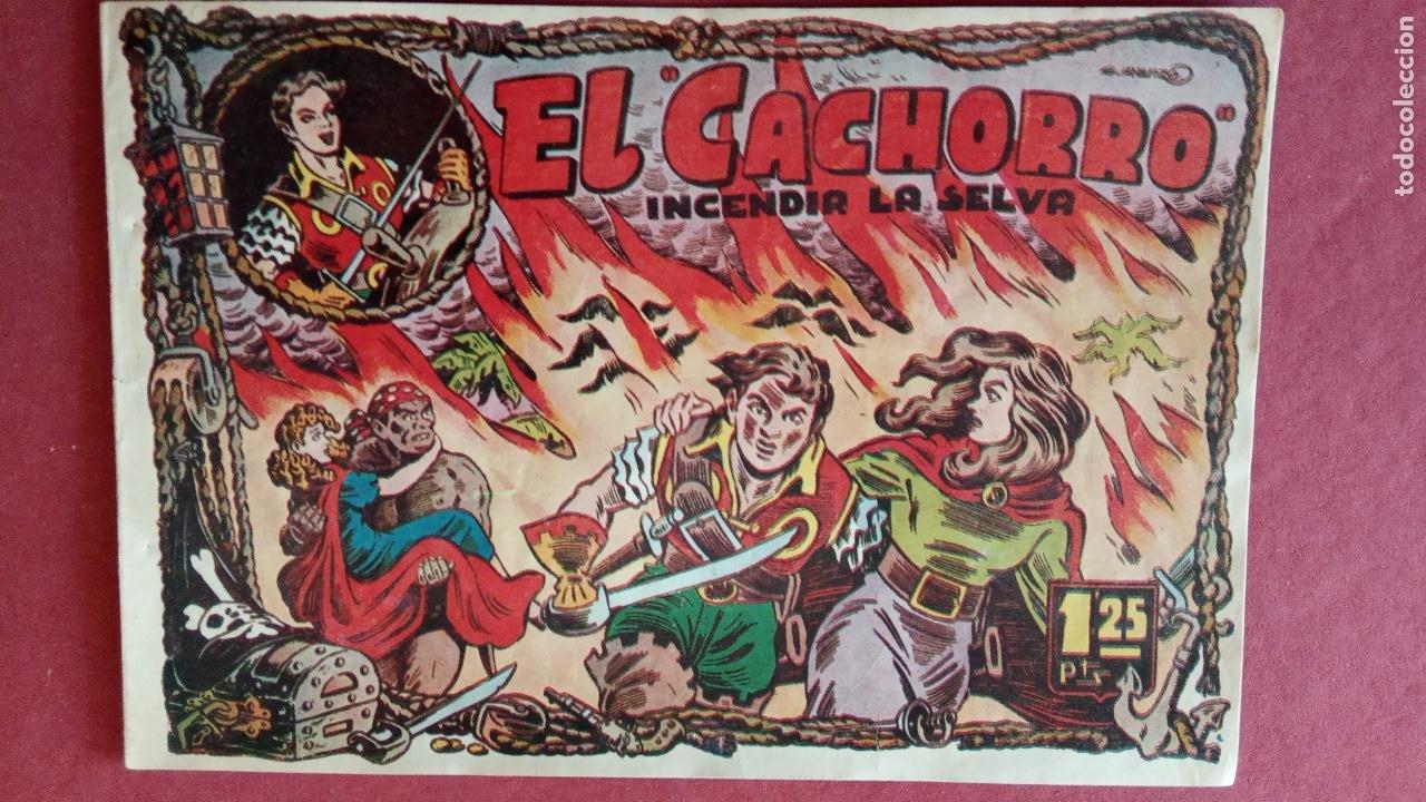Tebeos: EL CACHORRO ORIGINALES 1951 BRUGUERA - 97 TEBEOS, VER TODAS LAS IMÁGENES DE PORTADAS Y CONTRAS - Foto 17 - 235576300