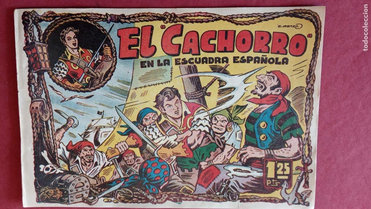 Tebeos: EL CACHORRO ORIGINALES 1951 BRUGUERA - 97 TEBEOS, VER TODAS LAS IMÁGENES DE PORTADAS Y CONTRAS - Foto 18 - 235576300