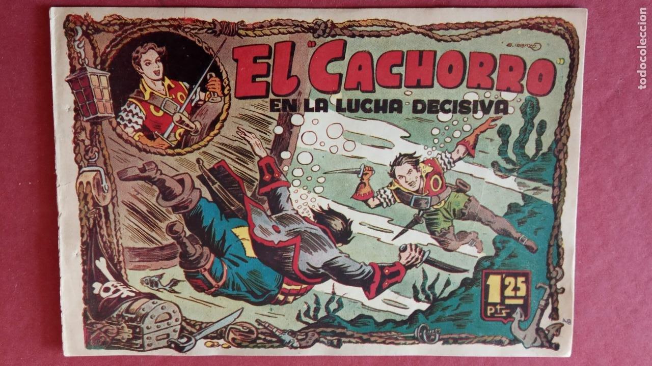 Tebeos: EL CACHORRO ORIGINALES 1951 BRUGUERA - 97 TEBEOS, VER TODAS LAS IMÁGENES DE PORTADAS Y CONTRAS - Foto 19 - 235576300
