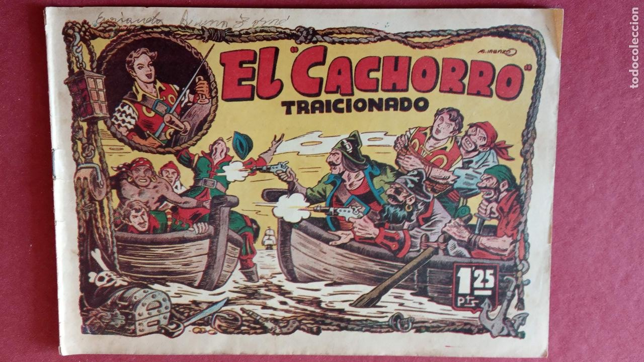 Tebeos: EL CACHORRO ORIGINALES 1951 BRUGUERA - 97 TEBEOS, VER TODAS LAS IMÁGENES DE PORTADAS Y CONTRAS - Foto 20 - 235576300
