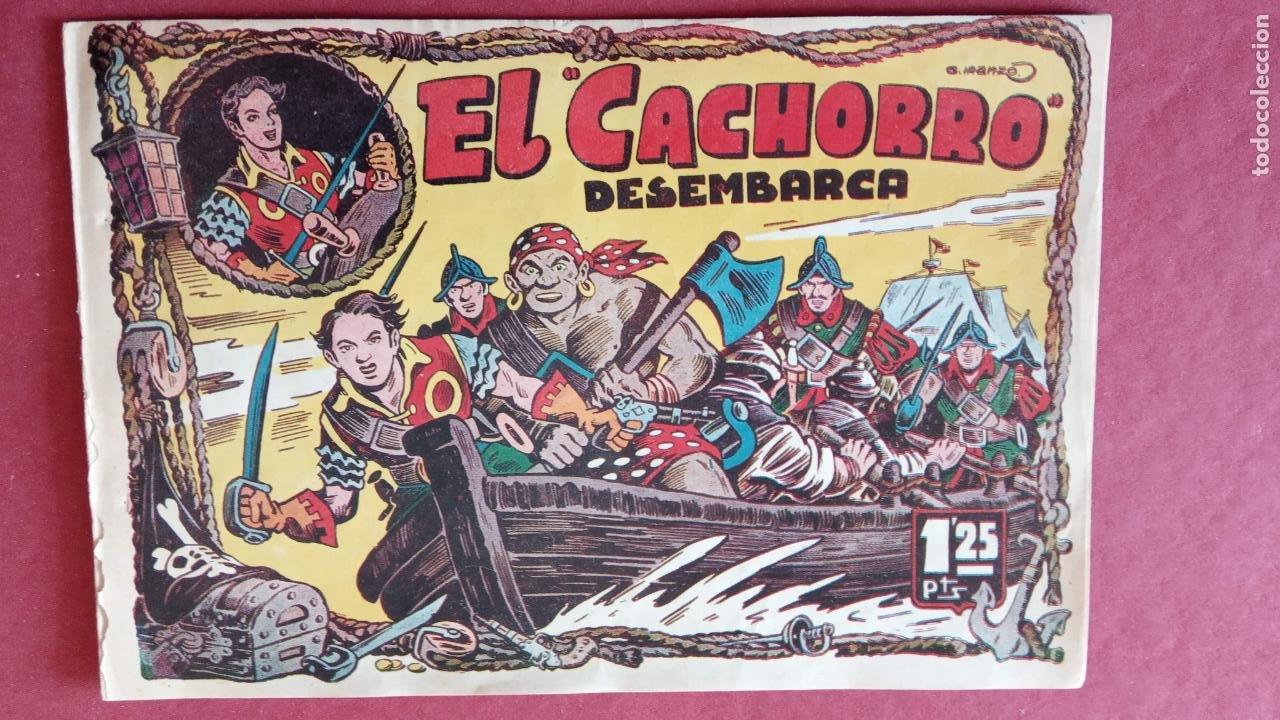 Tebeos: EL CACHORRO ORIGINALES 1951 BRUGUERA - 97 TEBEOS, VER TODAS LAS IMÁGENES DE PORTADAS Y CONTRAS - Foto 21 - 235576300