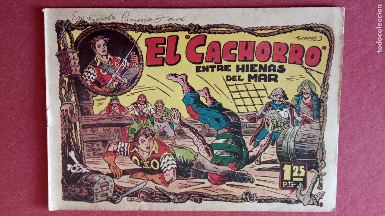Tebeos: EL CACHORRO ORIGINALES 1951 BRUGUERA - 97 TEBEOS, VER TODAS LAS IMÁGENES DE PORTADAS Y CONTRAS - Foto 22 - 235576300