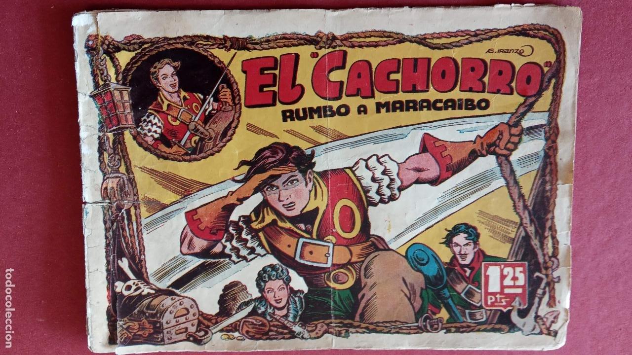 Tebeos: EL CACHORRO ORIGINALES 1951 BRUGUERA - 97 TEBEOS, VER TODAS LAS IMÁGENES DE PORTADAS Y CONTRAS - Foto 24 - 235576300