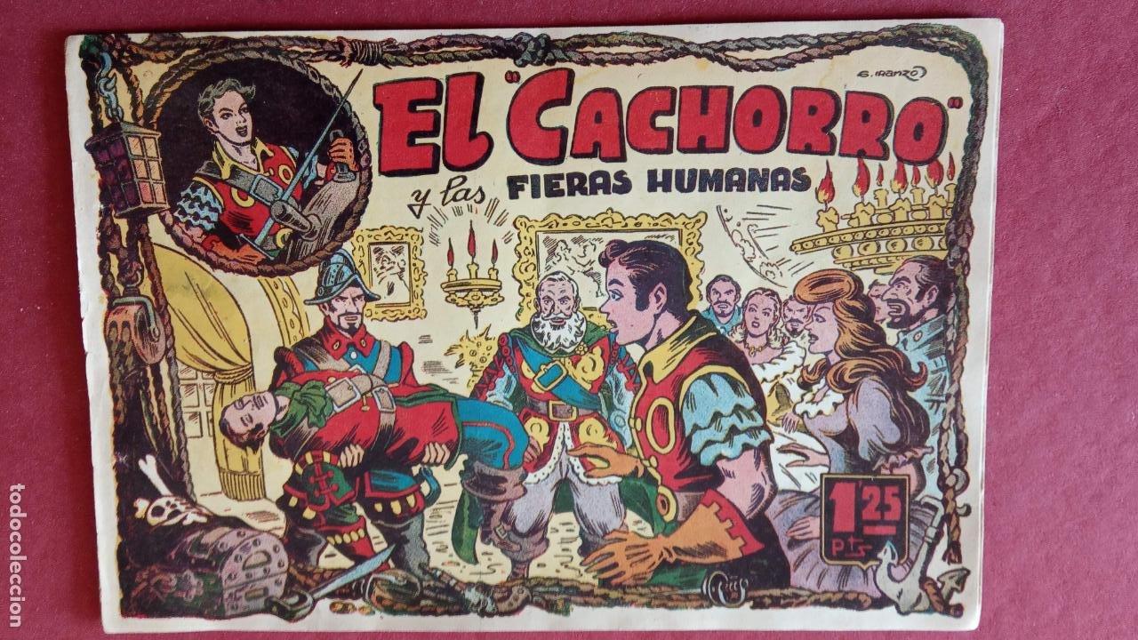 Tebeos: EL CACHORRO ORIGINALES 1951 BRUGUERA - 97 TEBEOS, VER TODAS LAS IMÁGENES DE PORTADAS Y CONTRAS - Foto 25 - 235576300