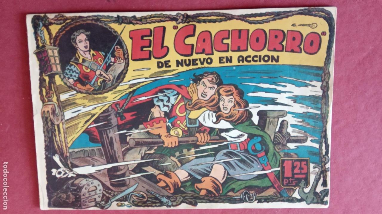 Tebeos: EL CACHORRO ORIGINALES 1951 BRUGUERA - 97 TEBEOS, VER TODAS LAS IMÁGENES DE PORTADAS Y CONTRAS - Foto 26 - 235576300