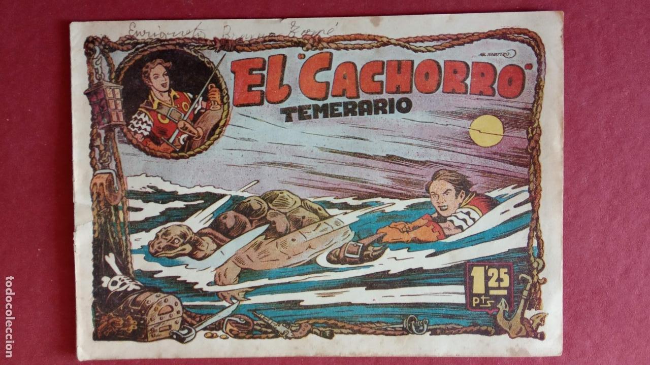 Tebeos: EL CACHORRO ORIGINALES 1951 BRUGUERA - 97 TEBEOS, VER TODAS LAS IMÁGENES DE PORTADAS Y CONTRAS - Foto 27 - 235576300