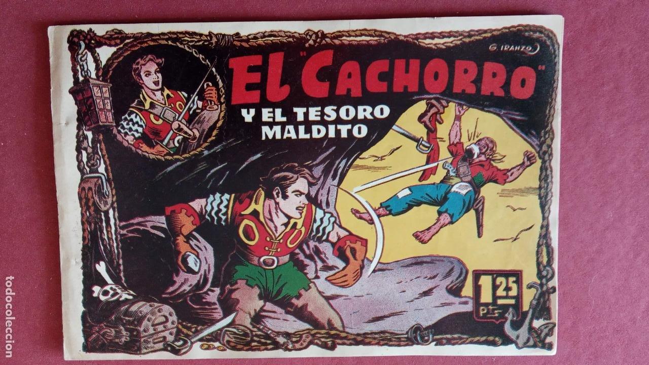 Tebeos: EL CACHORRO ORIGINALES 1951 BRUGUERA - 97 TEBEOS, VER TODAS LAS IMÁGENES DE PORTADAS Y CONTRAS - Foto 29 - 235576300