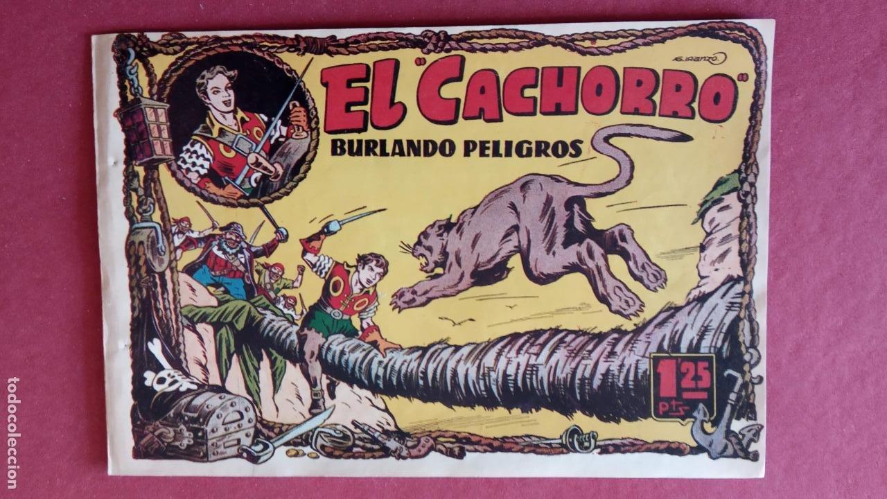 Tebeos: EL CACHORRO ORIGINALES 1951 BRUGUERA - 97 TEBEOS, VER TODAS LAS IMÁGENES DE PORTADAS Y CONTRAS - Foto 30 - 235576300