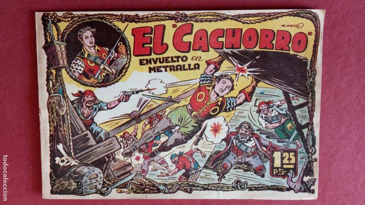 Tebeos: EL CACHORRO ORIGINALES 1951 BRUGUERA - 97 TEBEOS, VER TODAS LAS IMÁGENES DE PORTADAS Y CONTRAS - Foto 31 - 235576300