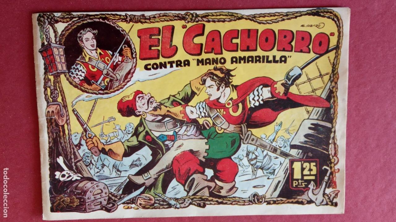 Tebeos: EL CACHORRO ORIGINALES 1951 BRUGUERA - 97 TEBEOS, VER TODAS LAS IMÁGENES DE PORTADAS Y CONTRAS - Foto 33 - 235576300