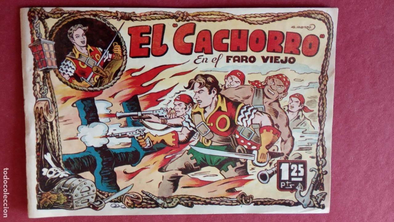 Tebeos: EL CACHORRO ORIGINALES 1951 BRUGUERA - 97 TEBEOS, VER TODAS LAS IMÁGENES DE PORTADAS Y CONTRAS - Foto 34 - 235576300